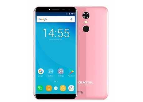 Oukitel C8 Pro 4G růžový