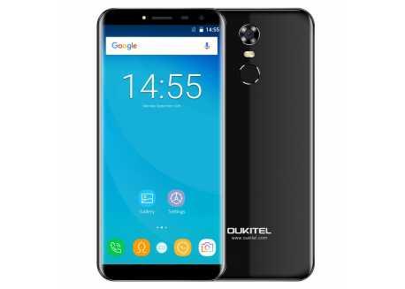 Oukitel C8 Pro 4G černý