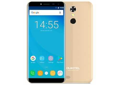 Oukitel C8 Pro 4G zlatý