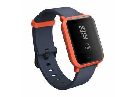 Xiaomi Amazfit BIP, chytré hodinky, červené