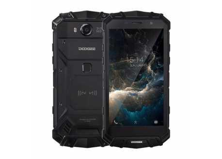 DooGee S60 černý FHD 6/64GB IP68 5580mAh NFC, záruka 25 měsíců a servis