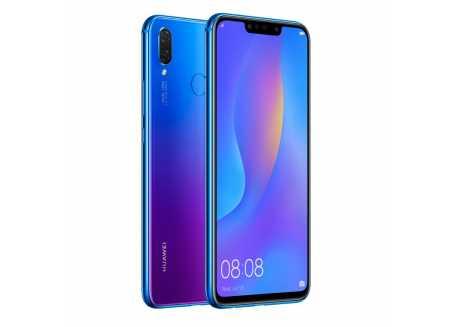 Huawei Nova 3i, 4/128GB, Dual SIM, modrofialový, 3.340 mAh, záruka 25 měsíců a servis