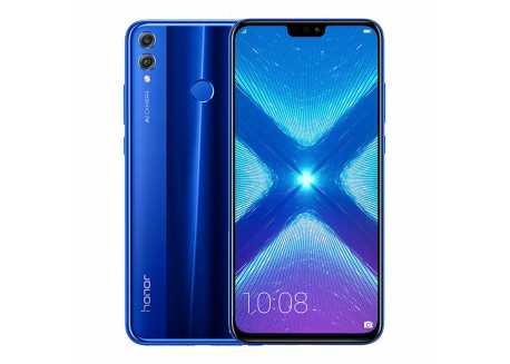 Huawei Honor 8X 4/64GB, modrý Dual SIM, záruka 25 měsíců a servis