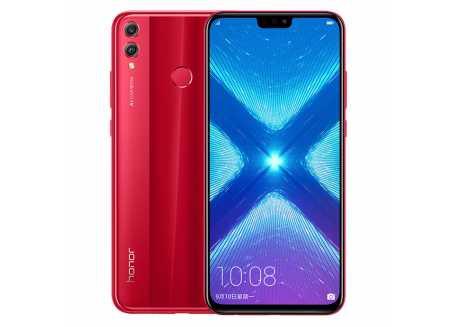 Huawei Honor 8X 4/64GB, červený Dual SIM, záruka 25 měsíců a servis