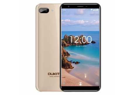 Oukitel C11 zlatý 1/8GB, 4 jádro, záruka 25 měsíců a servis