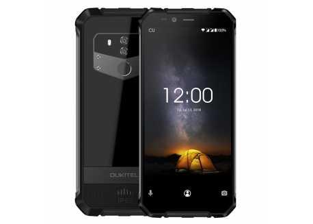 Oukitel WP1 černý 4/64GB, IP68, baterie 5000 mAh, 8 jádro, záruka 25 měsíců a servis