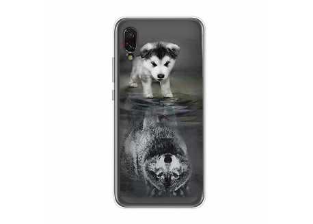Pouzdro pro Xiaomi Redmi 6A, silikon pejsek