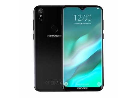 DooGee Y8 3/32GB 3400mAh, černý, záruka 25 měsíců a servis