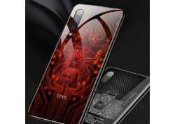 Pouzdro Symfony pro Xiaomi Mi A3, záda tvrzené sklo, čip