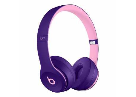 Beats Solo3 wireless sluchátka bezdrátová, růžovofialová