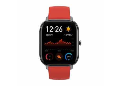 Xiaomi Amazfit GTS chytré hodinky, červená