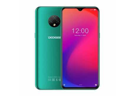 Doogee X95 2/16GB, 4350 mAh, zelená