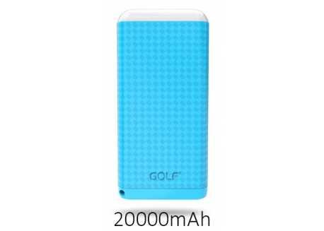 Golf D200GB power bank / powerbanka 20000mAh modrá