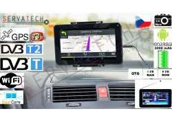 """ZÁNOVNÍ Tablet Gps Televize Moto TAB 7 DVB-T/2 TV, 7""""  HD LCD 1024x600, DUAL CORE 1,2 GHz, 1GB RAM, 8GB ROM, GPS,  2x KAM"""