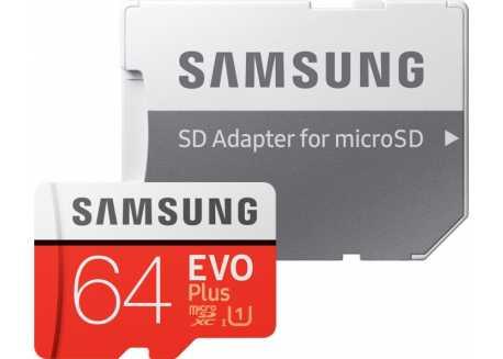 Samsung micro SDXC karta 64GB, CL10 - MC64HA/EU
